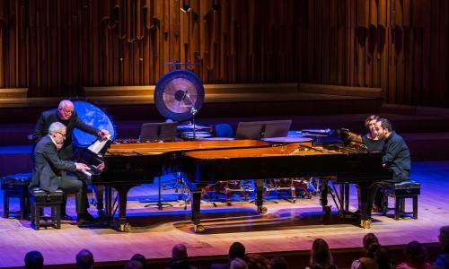 Igor Levit/Markus Becker review – technically faultless but strangely lacking impact