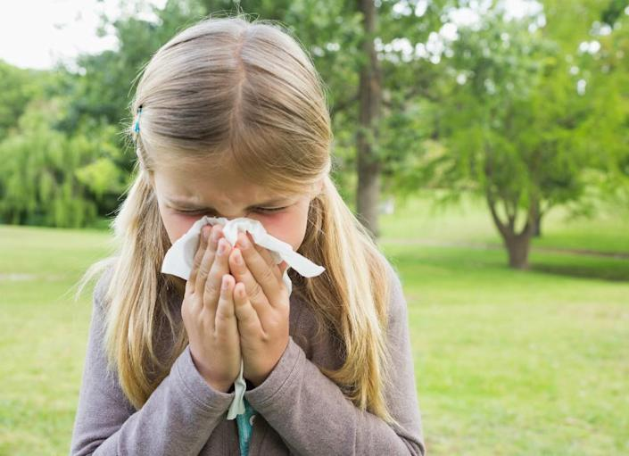 """<body> <p>One of the most common culprits of severe seasonal <a rel=""""nofollow noopener"""" href="""" http://www.bobvila.com/slideshow/allergy-proof-your-home-in-7-steps-48707/indoor-allergies#.VW9lVM9ViT4?bv=yahoo"""" target=""""_blank"""" data-ylk=""""slk:allergies"""" class=""""link rapid-noclick-resp"""">allergies</a>? You guessed it: grass. Runny noses, itchy eyes, and coughing go hand in hand with lawn care for those who suffer from grass allergies. An artificial lawn eliminates the allergens, leaving you free to breathe easier without having to pop a handful of allergy pills.</p> <p><strong>Related: <a rel=""""nofollow noopener"""" href="""" http://www.bobvila.com/articles/464-reduce-allergies-and-asthma-with-home-improvements/#.VW9ldM9ViT4?bv=yahoo"""" target=""""_blank"""" data-ylk=""""slk:Reduce Allergies and Asthma with Home Improvements"""" class=""""link rapid-noclick-resp"""">Reduce Allergies and Asthma with Home Improvements</a> </strong> </p> </body>"""