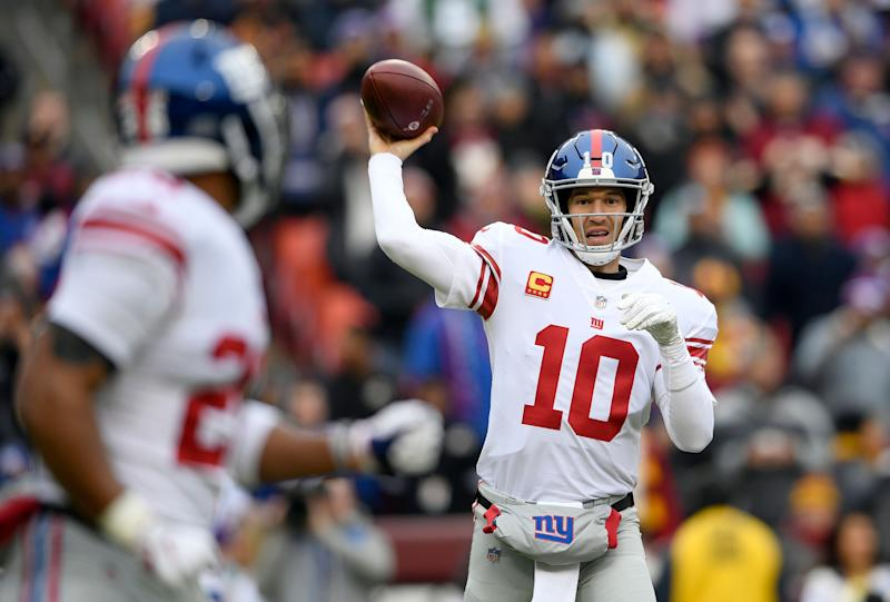 Life after Eli Manning looms large for the Giants. (AP)