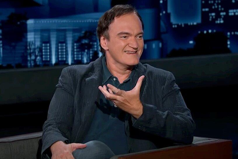 Quentin Tarantino Jokes That Son Leo Was Not Named After Leonardo DiCaprio