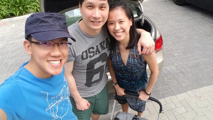 Singaporean couple aims to make life easier for new parents with pram cleaning service