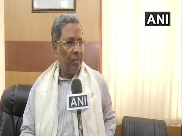 Former Karnataka chief minister Siddaramaiah (File Photo/ANI)