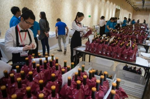 More than 300 experts from around the world gathered at a luxury hotel in Beijing last weekend to taste 9,000 wines from some 50 countries