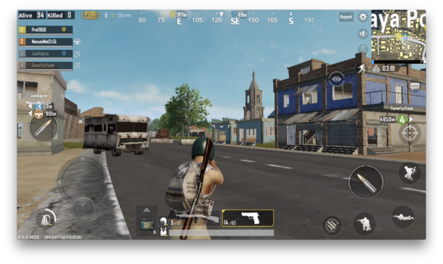 In PUBG, you explore the island, looking for people to kill.