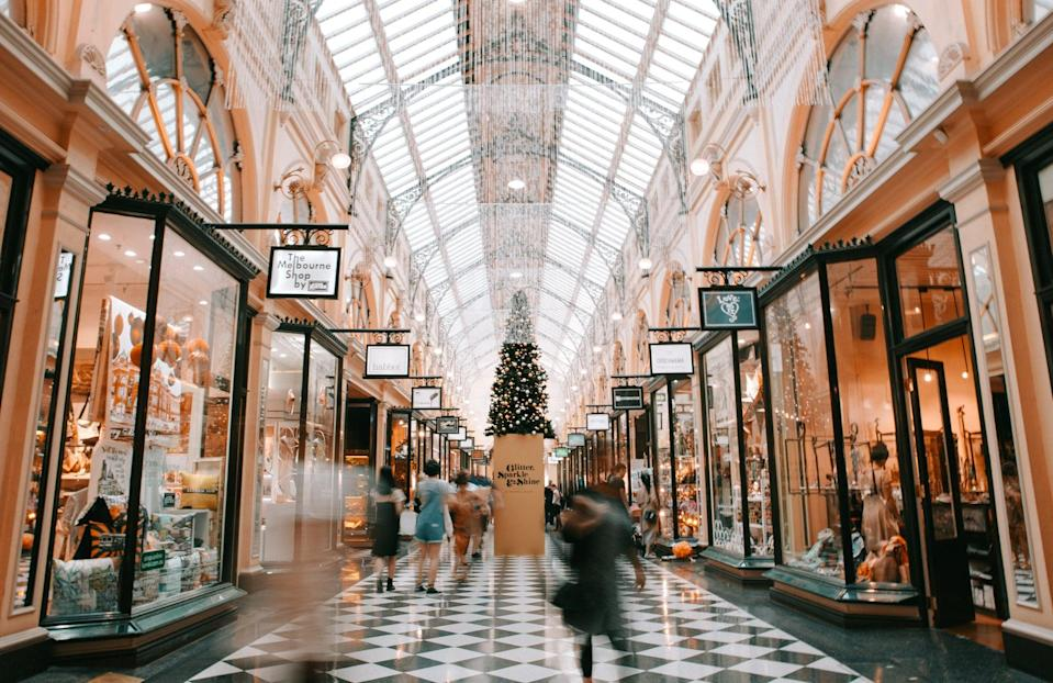 """<p>Ah, remember the mall? Make Christmas feel normal(ish) with this Zoom backdrop.</p> <p><a href=""""http://media1.popsugar-assets.com/files/2020/12/02/711/n/1922507/64a5e2907bf64851_heidi-fin-2TLREZi7BUg-unsplash/i/Decorated-Mall-Zoom-Background.jpg"""" class=""""link rapid-noclick-resp"""" rel=""""nofollow noopener"""" target=""""_blank"""" data-ylk=""""slk:Download Zoom background image here."""">Download Zoom background image here.</a> </p>"""