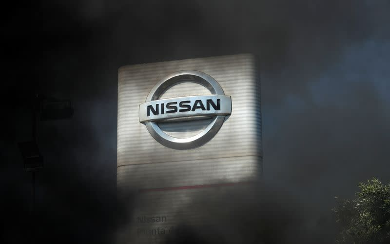 Protest against the closure of the Nissan factory in Barcelona
