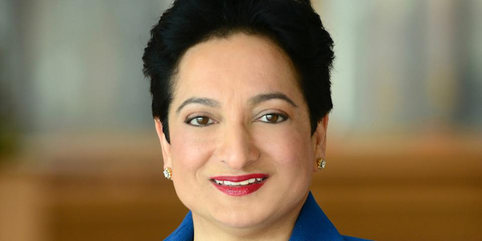 Shamina Singh - Founder and President, Mastercard Center for Inclusive Growth & Executive Vice President, Corporate Sustainability, Mastercard. Photo: Mastercard