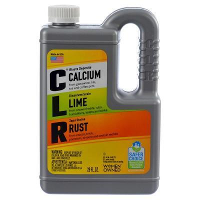"""<p><strong>CLR</strong></p><p>target.com</p><p><a href=""""https://www.target.com/p/clr-calcium-lime-and-rust-remover-28-oz/-/A-13821647"""" rel=""""nofollow noopener"""" target=""""_blank"""" data-ylk=""""slk:BUY IT HERE"""" class=""""link rapid-noclick-resp"""">BUY IT HERE</a></p><p>It's normal for your shower head to build up residue over time. This product will easily tackle that problem for you.</p>"""
