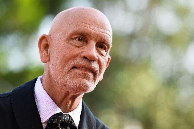 US actor John Malkovich arrives for the screening of the upcoming television series