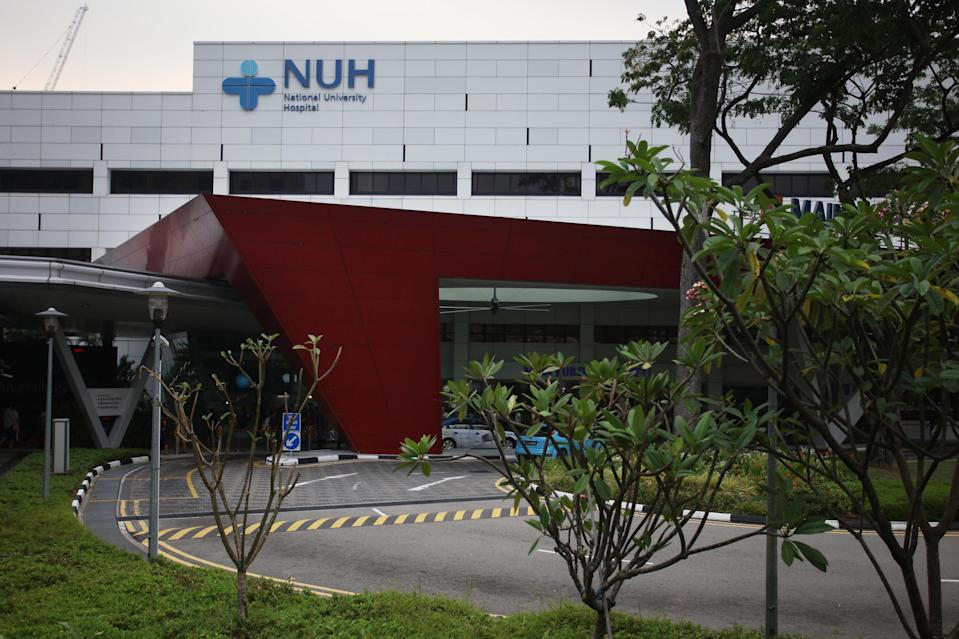National University Hospital at Lower Kent Ridge Road. (Yahoo News Singapore file photo)