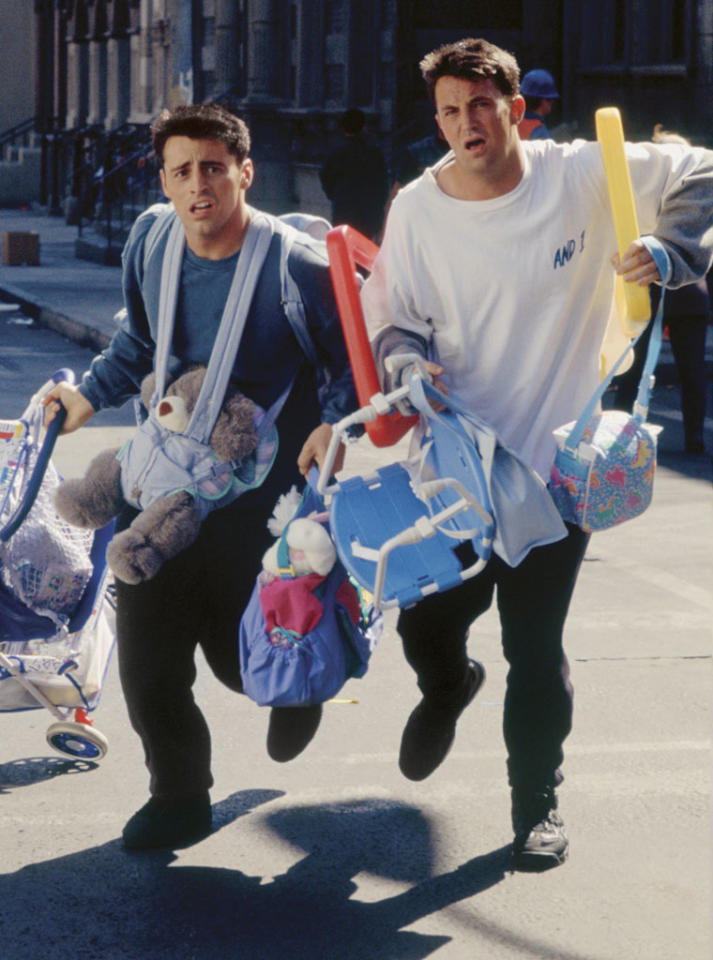 "Chandler Bing and Joey Tribbiani (""Friends"")"