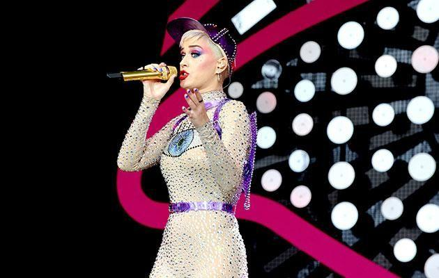 Katy performing at Glastonbury earlier this year. Source: Getty