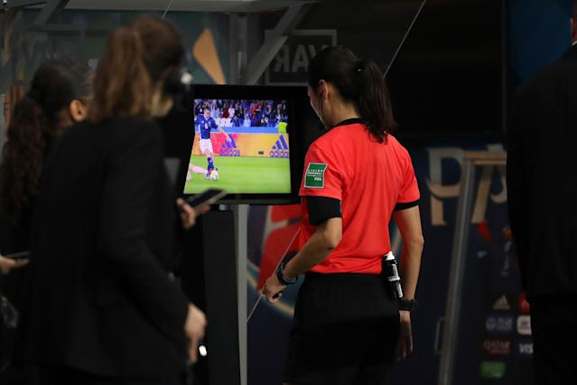VAR has been a sore talking point of this Women's World Cup for many fans. (Getty)