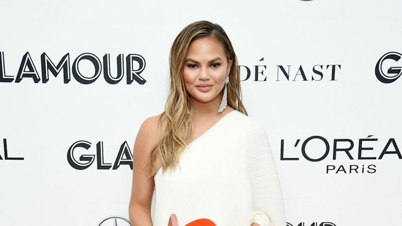 Chrissy Teigen Hilariously Documents Her Travels With Luna's Potty Training Toilet