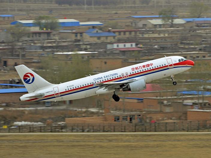 china eastern airlines airplane