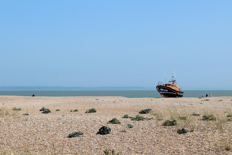 The Dungeness RNLI lifeboat on the beach (Rory Sullivan)