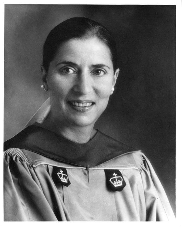Ginsburg became a professor at her alma mater, Columbia Law School, in 1980. (Photo: Supreme Court of the United States)