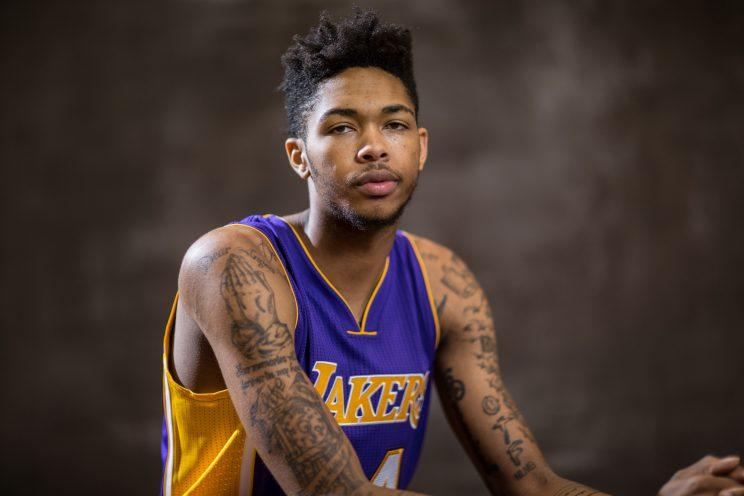 The Lakers could have a special player in Brandon Ingram. (Getty)