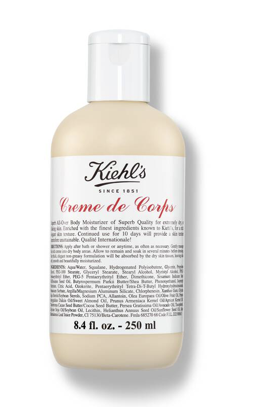 """<p><strong>'kiehl''s'</strong></p><p>kiehls.com</p><p><strong>$32.00</strong></p><p><a href=""""https://go.redirectingat.com?id=74968X1596630&url=https%3A%2F%2Fwww.kiehls.com%2Fbody%2Fbody-lotions-body-oils%2Fcreme-de-corps%2F259.html&sref=https%3A%2F%2Fwww.townandcountrymag.com%2Fstyle%2Fbeauty-products%2Fg36367607%2Ftc-editors-beauty-and-wellness-roundup%2F"""" rel=""""nofollow noopener"""" target=""""_blank"""" data-ylk=""""slk:Shop Now"""" class=""""link rapid-noclick-resp"""">Shop Now</a></p><p>""""I love Kiehl's Crème de Corps, made with soy milk and honey. As advertised, it has the texture of soft whipped butter, it smells lovely, and it lasts: You feel it on your skin the entire day. A little bit of comfort in a twist-off jar.""""<em>—Klara Glowczewska, Executive Travel Editor</em></p>"""