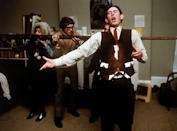 <p>Prince Charles shows his creative side with friends, acting in a sketch comedy.</p>