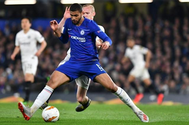 Chelsea midfielder Ruben Loftus-Cheek is working his way back to fitness after a series of injury woes (AFP Photo/Oliver GREENWOOD)