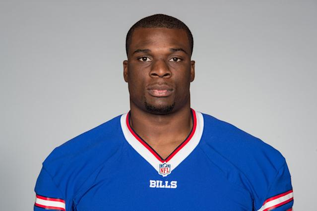 Buffalo Bills offensive tackle Cyrus Kouandjio was involved in a bizarre incident. (AP)