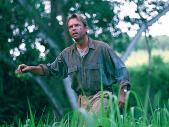 Sam Neill as level-headed palaeontologist Dr Alan Grant in the original 'Jurassic Park' (Universal Pictures)