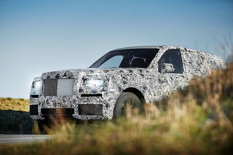 rolls royce cullinan news specs pictures prototype