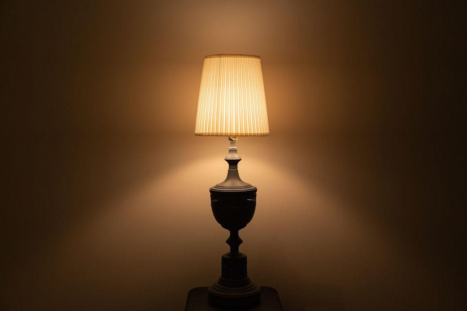"""<p>A lamp doesn't even need to have its original shade to be valuable, though that can increase its worth. <a href=""""https://budgeting.thenest.com/tell-lamp-thats-worth-money-24155.html"""" rel=""""nofollow noopener"""" target=""""_blank"""" data-ylk=""""slk:Keep an eye out for"""" class=""""link rapid-noclick-resp"""">Keep an eye out for</a> manufacturing labels from names like Tiffany, Steuben, Stickley, Louis Poulsen, and Stiffel.</p>"""