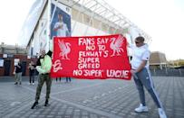 Fans were highly critical of the Super League proposals