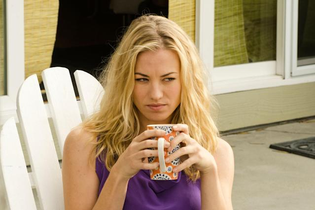 "Yvonne Strahovski as Hannah McKay in the ""Dexter"" Season 8 episode, ""Goodbye Miami."""