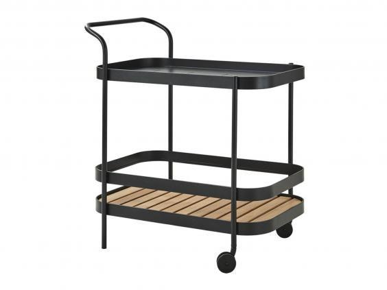 Keep things simple with this Scandi style trolley that's chic and is the perfect finishing touch to any room