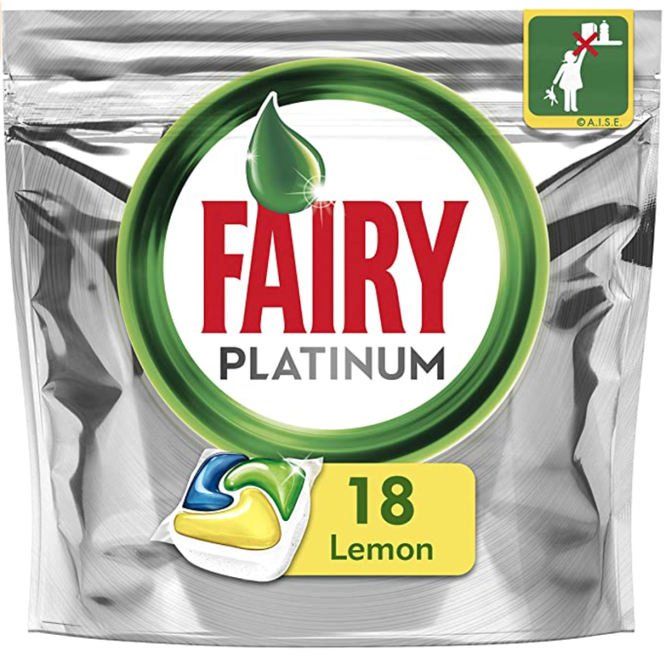 Fairy Dishwasher Tablets 18 Pack