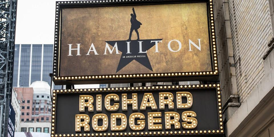 """The """"Hamilton"""" musical was released on Disney+ on July 3."""