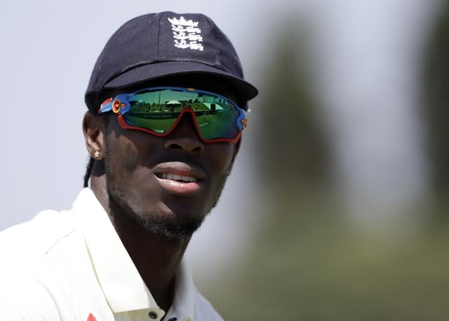 England's Jofra Archer got two wickets in the Tests (Mark Baker/AP)