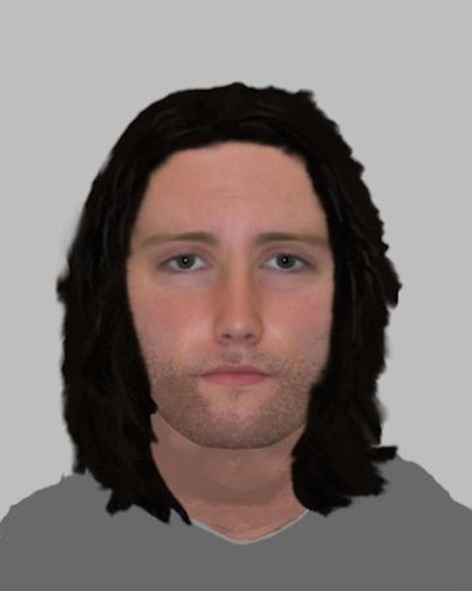 The E-fit of Watson produced by police after interviewing an 11-year-old witness (Picture: Sussex Police)