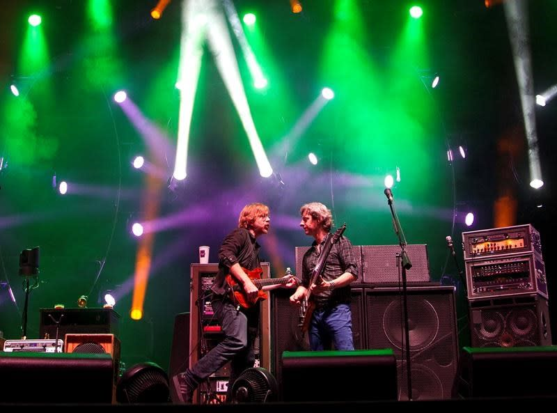 Washed out: Water woes scuttle Phish's 3-day music festival