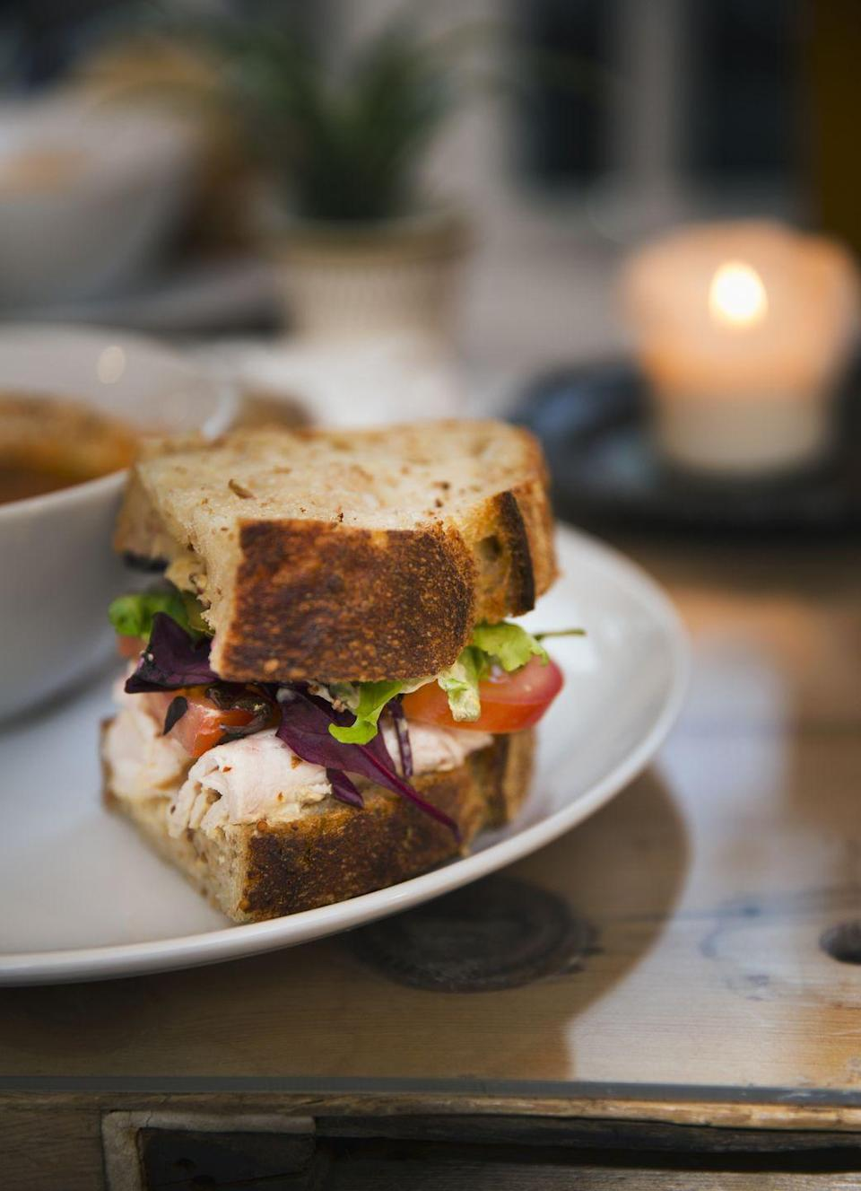 """<p>They take sandwiches pretty seriously in this New England state. In 2006, <a href=""""http://www.npr.org/sections/alltechconsidered/2014/06/26/325803580/what-burritos-and-sandwiches-can-teach-us-about-innovation"""" rel=""""nofollow noopener"""" target=""""_blank"""" data-ylk=""""slk:a contract dispute"""" class=""""link rapid-noclick-resp"""">a contract dispute</a> regarding whether or not a Qdoba Mexican Grill burrito could qualify as a sandwich went to trial (really). The ruling? <a href=""""https://loweringthebar.net/2006/11/judge_rules_bur.html"""" rel=""""nofollow noopener"""" target=""""_blank"""" data-ylk=""""slk:Burritos are not sandwiches"""" class=""""link rapid-noclick-resp"""">Burritos are not sandwiches</a> — only foods made with two pieces of bread with a filling (meat, cheese, or both) can carry that name. </p>"""