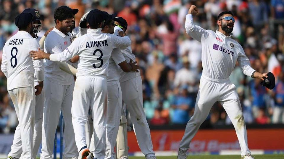 Team India take the top spot after winning Oval heroics