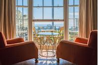 """<p>Soak up the epic views of Brighton's coastline from this cool townhouse in iconic Regency Square. Just under an hour away, this coastal city is the perfect weekend trip from London.<br></p><p>Nestled directly opposite the old pier and i360 tower, Artist Residence Brighton is complete with quirks and unexpected surprises. Some rooms have been decorated by local artists, while others have been designed in-house using rustic vintage furniture. </p><p><a href=""""https://www.redescapes.com/offers/east-sussex-brighton-artist-residence-hotel"""" rel=""""nofollow noopener"""" target=""""_blank"""" data-ylk=""""slk:Read our review of Artist Residence"""" class=""""link rapid-noclick-resp"""">Read our review of Artist Residence</a></p><p><a class=""""link rapid-noclick-resp"""" href=""""https://www.booking.com/hotel/gb/artists-residence.en-gb.html?aid=2070929&label=weekend-trips-from-london"""" rel=""""nofollow noopener"""" target=""""_blank"""" data-ylk=""""slk:CHECK AVAILABILITY"""">CHECK AVAILABILITY</a></p>"""