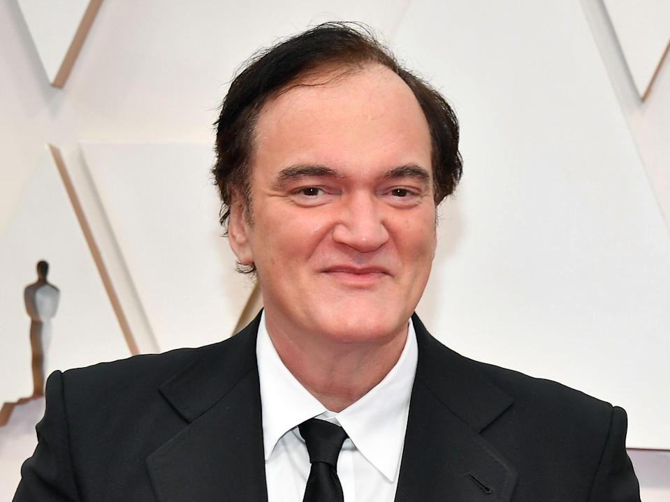 Quentin Tarantino pictured at the 92nd Oscars in February 2020 (Getty Images)