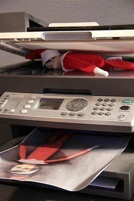 "<p>Your elf decided that one of him just isn't enough, so he made a copy overnight.</p> <p>Source: <a href=""http://www.pinterest.com/pin/386113368027518013/"" target=""_blank"">Pinterest</a></p>"