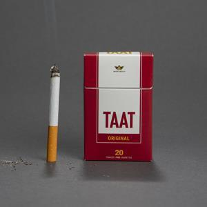 CLC has entered into a memorandum of understanding with TAAT™ Lifestyle & Wellness Ltd. to develop and distribute TAAT™ for the Canadian market. Pictured above is a 20-stick pack of TAAT™ Original, which is engineered to have a similar appearance to incumbent cigarette products in the tobacco category, as well as to taste, smell, and smoke similarly to a tobacco cigarette from an experiential perspective, despite containing no tobacco or nicotine.