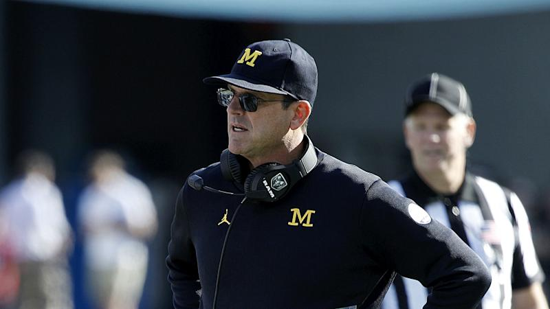 Michigan's Jim Harbaugh reportedly accuses Ohio State's Ryan Day of cheating in Big Ten call