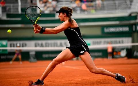 Konta racked up 32 unforced errors in 19 games - Credit: AFP