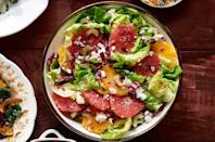 "<p>This light and crisp salad is the perfect for cutting through the Thanksgiving heaviness.</p><p><strong><a href=""https://www.countryliving.com/food-drinks/recipes/a36664/bibb-and-citrus-salad/"" rel=""nofollow noopener"" target=""_blank"" data-ylk=""slk:Get the recipe"" class=""link rapid-noclick-resp"">Get the recipe</a>.</strong></p>"