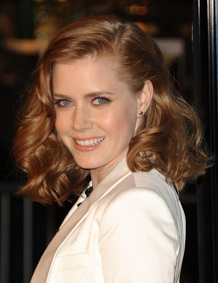 """<a href=""""http://movies.yahoo.com/movie/contributor/1800018895"""">Amy Adams</a> at the Los Angeles premiere of <a href=""""http://movies.yahoo.com/movie/1809823943/info"""">Sunshine Cleaning</a> - 03/09/2009"""