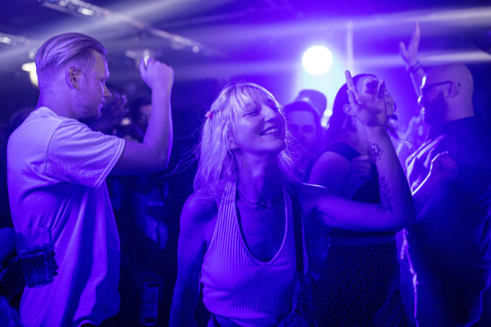 Image: London's Egg London nightclub in the early hours of July 19 (Rob Pinney / Getty Images)