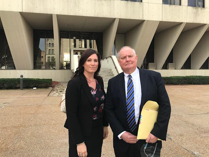 Lawyers Patty Kalkanas and Jeff Tomczak are representing Denise O'Malley on attempted murder charges. Image via John Ferak/Patch
