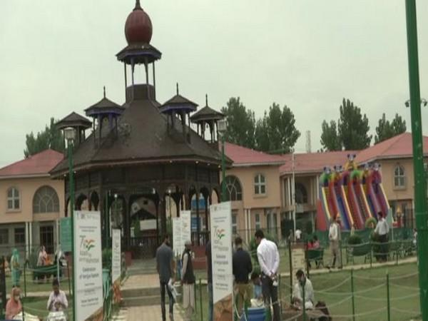 Visual from Art exhibition in Kashmir